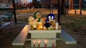 Tamir Rice memorial, playground at Cudell Rec Center, Cleveland